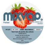 MIXVAP - Fraise 1L
