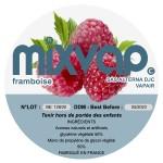 MIXVAP - Framboise 1L