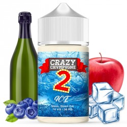CRAZY JUICE : CRAZY CHAMPAGNE 2 ICE